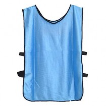 Sports Training Bibs Vests Top Blue